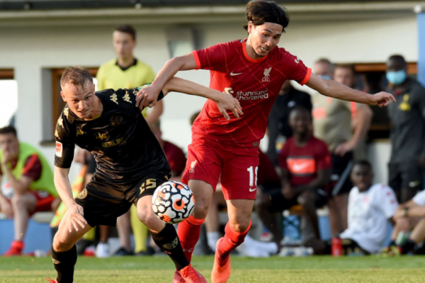 Liverpool warm up to defeat Mainz 1-0