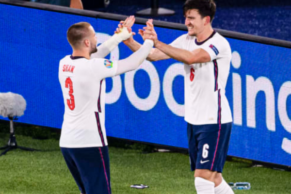 Maguire: Shaw is the best player on the pitch